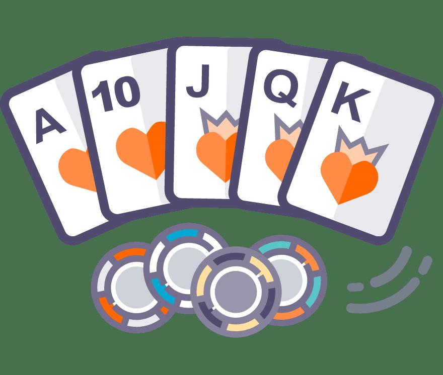 العب Live Texas Hold'em Online